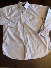 Nautica Men's 16 34/35 Light Purple Dress Shirt Comfort Stretch