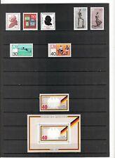 N°523 - Allemagne Fédérale ( 1974 ) - 8 timbres neufs et 1 bloc neuf