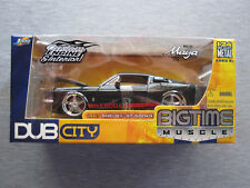 Jada Toys DUB City Big Time Muscle 1:24 scale 1967 Shelby GT-500KR - NEW