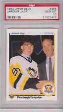 Jaromir Jagr Upper Deck 1990 90-91 #356 Rookie Card rC PSA 10 Gem Mint QUANTITY