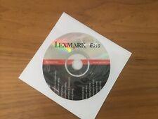 lexmark  e120    p/n 10s0045 software cd