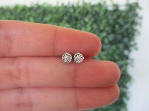 .033 CTW Diamond Earrings 18k White Gold JS49W sep