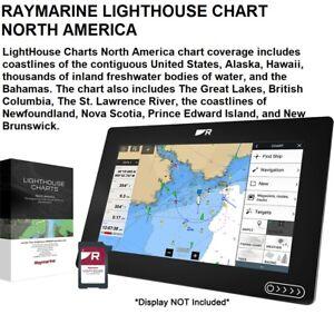 RAYMARINE LIGHTHOUSE CHART NORTH AMERICA PREMIUM