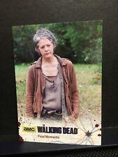 The Walking Dead Season 4 Part 1 silver Card 35/99 Final Moments Carol Card #67