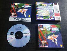 AIR COMBAT : JEU Sony PLAYSTATION PS1 PS2 (Namco COMPLET envoi suivi SCES-00007)