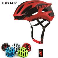 Tikoy Cycling Helmet Ultralight MTB Road Bike Bicycle EPS Helmets With Light