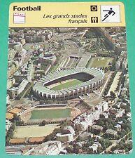 FOOTBALL LES GRANDS STADES LE PARC DES PRINCES PARIS SAINT-GERMAIN PSG