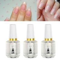 15ml Nail Art Hardener Vitamin Transparent Top Coatlish Coat Cover