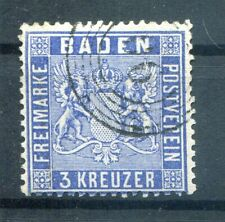 Baden 10c FARBE gest. BPP 250EUR (H1977