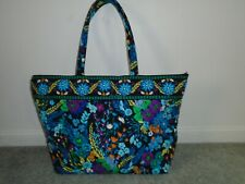 Vera Bradley Midnight Blues Extra Large Tote Handbag