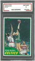 KEVIN MCHALE #75 1981-82 TOPPS SUPER ACTION RC ROOKIE ~ BSG 8 NMT-MINT