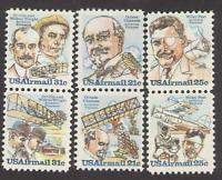 US. C91, C92, C93, C94, 95, 96. Air Stamps  Lot of 6. MNH