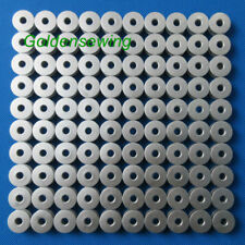 100 INDUSTRIAL SEWING MACHINE L SIZE ALUMINUM BOBBINS FOR REGULAR MACHINES
