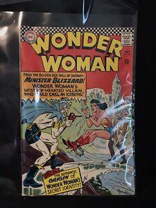 WONDER WOMAN #162 (1966 DC) Silver Age Comic Book