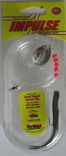 "Northland Tackle IMPULSE® Rigged 3"" Minnow - Silver Shiner     NEW!"