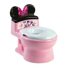 Disney ImaginAction Minnie Mouse 2-in-1 Potty Training Toilet, Toddler Toilet an