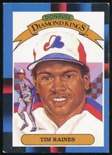 1988 Donruss Diamond Kings #2 Tim Raines Montreal Expos
