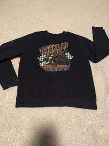 Boys Monster Truck Joe Boxer Crew neck Sweater Size Large