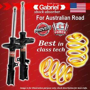 Rear Gabriel Ultra Shocks + Lowered King Coil Springs for Toyota Aurion GSV40R