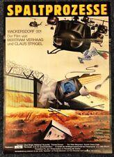 Spaltprozesse - Wackersdorf 001 1986 - Doku Original A1 Filmposter (M-6030+