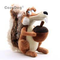 Ice Age Scrat Scratte Female Squirrel Plush Toy Stuffed Animal 8'' Doll Kid Gift