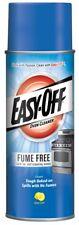Easy-Off FUME FREE OVEN CLEANER Lemon Scent AEROSOL Safe For Self-Cleaning Ovens