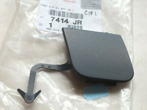 New Genuine Citroen C4 Front towing eye cover primered grey 7414JR  PC45