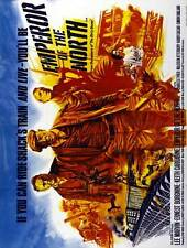EMPEROR OF THE NORTH POLE Movie POSTER 30x40 Lee Marvin Ernest Borgnine Keith