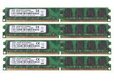Kingston 8GB 4x 2GB DDR2 800MHz PC2-6400U DIMM Motherboard Desktop Memory RAM