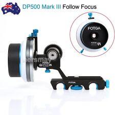 AU FOTGA DP500 Mark III Quick Release A/B Hard Stop Follow Focus Fr 15mm Rod Rig