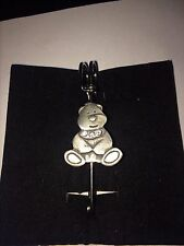 """Kilt Pin Pewter 3"""" 7.5 cm Teddy Dr37 Scarf , Brooch and"""