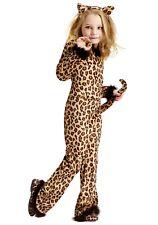 Child Pretty Leopard Jumpsuit Costume Size Medium 8-10 (with defect)