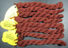 8xNeedlepoint/Embroidery THREAD WILTEX Vineyard Merino Strndble-SaddleBrown-VSxx