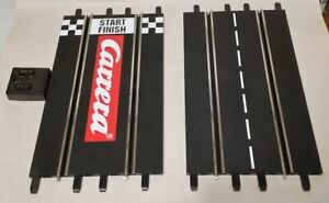 Carrera Evolution Exclusiv 1/24 1/32 Slot Car Track Lot 13 Straights & Terminal