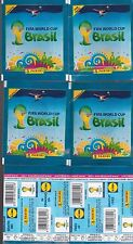 4 paquets collector Lidl stickers FIFA WORLD CUP BRASIL PANINI football image