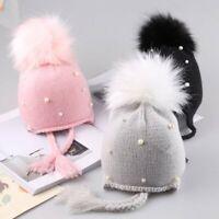 Warm Toddler Kids Girl&Boy Baby Infant Winter Crochet Knit Hat Beanie Cap