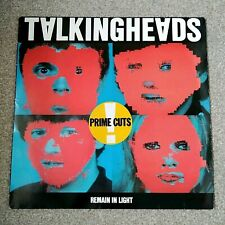 Talking Heads Remain In Light vinyl LP album record UK SRK6095 SIRE 1980