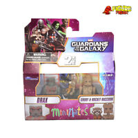 Marvel Minimates Series 57 Guardians of the Galaxy Movie Drax & Groot w/ Rocket