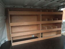 Ford Transit Custom SWB Off Side 12 Compartment Plywood, Ply Racking,Shelving