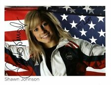SHAWN JOHNSON Autographed Signed USA OLYMPIC Photograph - To Lori
