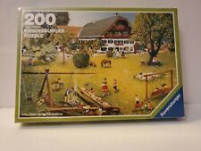 1988 RAVENSBURGER PUZZLE 200 Pieces Jigsaw Holiday in the Country SEALED