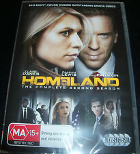 Homeland Complete Second Season 2 (Australia Region 4) DVD - NEW