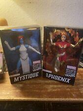 Marvel 80th Anniversary Barbies As Dark Pheonix And Mystique
