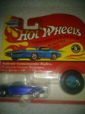 Hot wheels Vintage Collection 1967/1993 Beatnik Bandit in blue . Redline Mags.