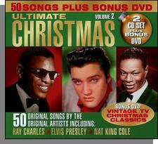 The Ultimate Christmas, Vol 2 - Two Oldies CD's + 3 Hour TV Christmas DVD! New!