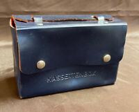 DDR Kassettenbox Kassettenkoffer Kassettentasche für 10 Musikkassetten #1361