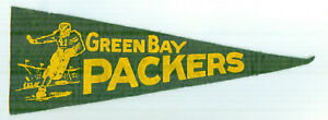 Vintage Green Bay Packers Mini Felt Pennant