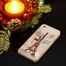 Christmas Paris Full Body Bumper Case + Free Screen Protector for iPhone 5/5S/SE
