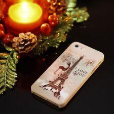 Natale Parigi Full Body Custodia Paraurti + proteggi schermo gratuito Per iPhone 5/5s/se