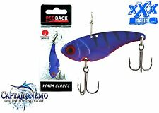 XXX MARINE REDBACK VENOM BLADE FISHING LURE 7.0G- DEEP PURPLE LURES 04 RVB7.0-04